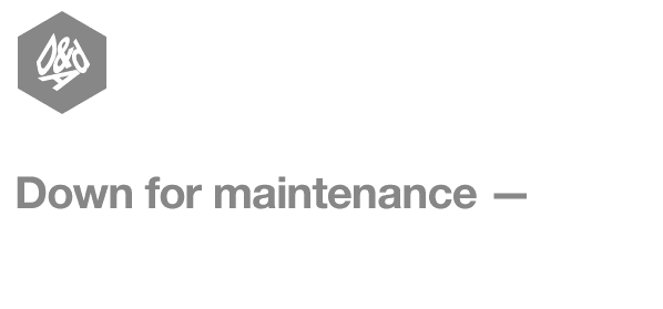 Down for maintenance - we'll be back in the time it takes to make a cuppa..